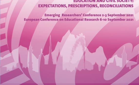 ECER 2021 Geneva -tapahtuman mainoskuva.